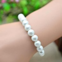 Wholesale Cheap In Stock Beaded Pearls Bracelets Wedding Bridal Accessories Bridal Jewelry Wedding Party Wear SD0003