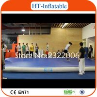 Wholesale Top Sale x2x0 m Inflatable Air Tracks Inflatable Air Tumble Track Inflatable Gym Mat