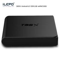 Wholesale Amlogic S905X Android TV Box KODI XBMC T95X K BOX Quad Core G G Android Minix Android TV