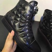 b p photo - Real Photos P P Luxury Brand Casual Shoes Top Layer Leather Mens Black Shoes On Sale