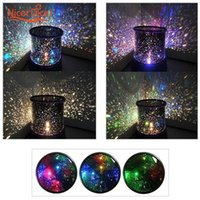 Wholesale New Colorful Sky Star Master With Moon Novel Festival Gifts Surprise Starry Star Projector Lamp luminaria