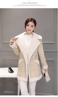 Wholesale 2016 autumn wear new dress lambs wool coat women cultivate one s morality in the long thickening cotton padded clothes