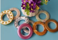Wholesale Curtain accessories Roman punch ring Nano Accessories Rome grade jade rings Roman rings