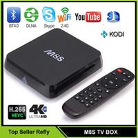 Cheap Top Quality M8S TV BOX 4K Kodi 16.00 Amlogic S812 Google Smart TV BOX VS M8S Plus Z4 Q7 Android TV Box