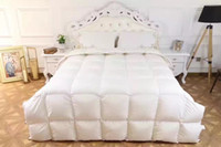Wholesale Washed white duck down duvet Autumn and winter is thick pure white specifications Home hotel applicable