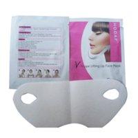 best lifting mask - 10Pcs Dozen Female Beauty Skin Care Lifting Up Slim V Shape Face Mask Anti Aging Moisturzing Best Product For Face Lift Up