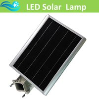 aluminium solar panel - integrated streetlighting aluminium alloy brightness led lamp outdoor solar light with v w solar panel waterproof IP65