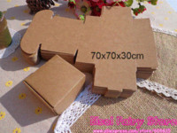 Wholesale x7x3cm Kraft Candy Box Handmade Soap Box Jewelry Packing Gift Box Packaging Boxes