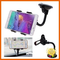 Wholesale Universal Phone Car Mount holder GPS Mobile Phone Car Windscreen Suction Mount Holder Cradle Stand for All Cellphone