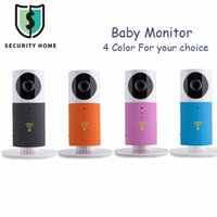 Wholesale Mini Wifi Baby Monitor Wireless Camera Infant Baby Clever Dog Home Security Video Night Vision Two way Audio For iOS Android