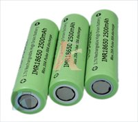 Wholesale Rechargable battery A vappower mah high discharge rate e cig battery replace VTC4 VTC5 DHL ups