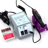 Wholesale Nail Art Equipment Manicure Tools Pedicure Acrylics Grey Electric Nail Drill Pen Machine Set Kit