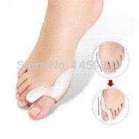 Wholesale 3 Pair Silicone Gel foot fingers Toe Separator thumb valgus protector Bunion adjuster Hallux Valgus Guard feet care