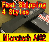 Wholesale 4 Styles Microtech Troodon A162 A162 A07 A161 Scarab knife survival knife Fast shipping
