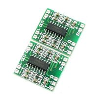 audio amplifier ics - PAM8403 X3W Mini Audio Class D amplifier board V input