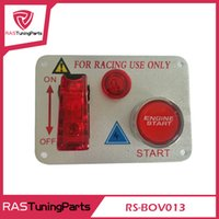Wholesale Hot sale Racing Car V Ignition Switch Panel Engine Start Push Button Red LED Toggle