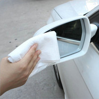 Wholesale Microfiber Cleaning Cloths color white