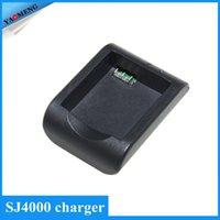 action spares - SJ4000 Battery Desktop Charger For Spare Battery For Original Sport Action Camera SJCAM SJ4000 sj5000 sj6000