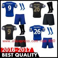 Wholesale Top quality the City Soccer Jerseys Home Away football shirt football maillot de foot scoks