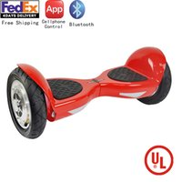 Wholesale Safe Skywalker inch Wheels Smart Electrical Hoverboard APP Cellphone Controlled Bluetooth Adult Balancing Scooter