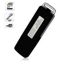 Wholesale New Mini GB USB Flash Drive Digital Voice Recorder Memory Stick Digital Silent Audio Sound Dictaphone