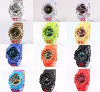 belt movement - 5pcs ga110 G Watch military camouflage watch digital watch Wristwatch watch Double movement LED watch Waterproof Wristwatches Wrist