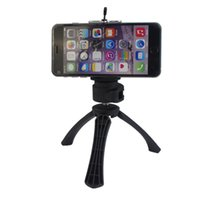 Wholesale 2016 new Arrival Degrees Rotation Mobile Camera Tripod Phone Clip Holder for Apple iPhone samsung phone and Gopro Camera CL JJ01Clip