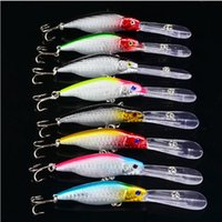 big fish marketing - 2016 Color Exported to Japan Market fishing lures plastic fishing hard bait Minnow Lures CM G hook
