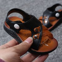 Wholesale Baby Kids boy Shoes Sandals Clogs Baby sandals soft bottom non slip baby sandals children sandals factory direct