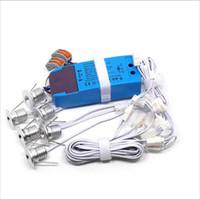 puck led light - 6pcs LED Buried Light IP65 Outdoor Mini Dimmable LED Downlight LED Puck Light WX6pcs LED Lighting Hole Size mm