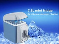 Wholesale 7 l car small refrigerator a multi purpose mini car refrigerator hot and cold dual