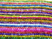 Wholesale mm Round Smooth Mother Of pearl Charm Beads Mixcolors Shell Beads Beads strands Jewelry DIY