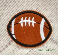 baby decorating games - Rugby Sports Teens Kids Applique Iron on Patch sports game decoration Gift baby Decorate Individuality pc