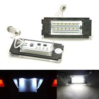 Wholesale 2x Error Free SMD Car LED License Plate Light Auto Lamp Rear Lights Bulb Car Accessories fit for MINI COOPER R56 R57 R58