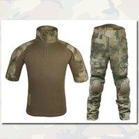 Wholesale BDU Uniform Sets Combat Shirt Pants Emerson Tactical Army Airsoft Camouflage Uniforms Summer Edition ATFG EM6893