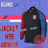 america free jacket - Top Quality America Men Adult Jacket Tracksuit Winter Long Sleeve Maillot de foot N98 Sports wear USA Training shirts