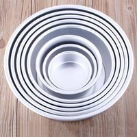 Wholesale 8 quot Aluminum Alloy Non stick Round Cake Mould Pan Tin Mold Tray Bakeware Tool