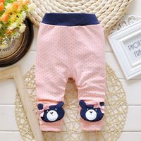 Wholesale 2016 Hitz Korean version of the foreign trade in cotton cartoon printing children pants girls casual pants