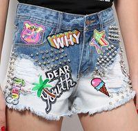 Wholesale maydaysale Style new women fashion jean shorts summer shorts