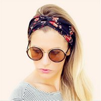 Wholesale 2016 women s sports hair band Printing Style wash Beauty running Yoga hair bands