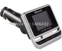 Wholesale Car MP3 Player Bluetooth Headsfree USB Charger LCD Display Caller ID FM Transmitter Wireless Remote TF Card U Disk Audio Player