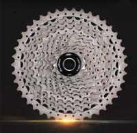 Cheap MTB Mountain Bike Bicycle Cassette Freewheel 10Speeds Flywheel 11-42T Teeth Crankset Bicycle Parts
