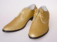 big business band - 2016 HOT Big USman dress shoe Flat Shoes Luxury Men s Business Oxfords Casual Shoe Brown Leather Derby Shoes