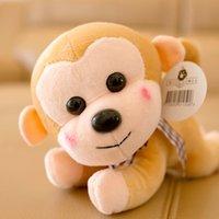 al por mayor boda de la muñeca del mono-Boda de la boda con la muñeca de juguete de felpa máquina de agarre juego de la máquina de bebé monkey muñeca muñeca regalo al por mayor