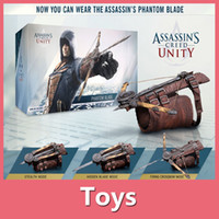 action costumes - Assassins Creed Unity Hidden Blade Action Figure Edward Kenway Cosplay Costume New in Retail Box