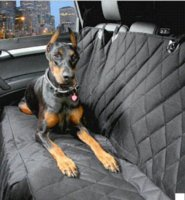 Wholesale 600D Oxford Cotton Car Trunk Back Seat Cover Mat For Pet Dog Cat Black Gray Brown Cheap car wrapping