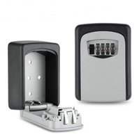 Qualité de mot de passe Safe Box Exportations Europe et les États-Unis Lock Box Suspendue Metal Key Box Key Safe