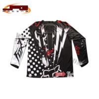 Wholesale off road pit bike Dirt bike cycling bicycle ATV Motorbike Motorcycle Motocross Racing Jersey Shirt T shirt M53034