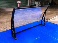 Wholesale YP80240 x240cm x94 in Assembly polycarbonate window and door canopy