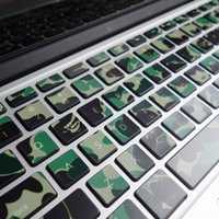 Wholesale camouflage color Creative personality Vinyl Local Decal Sticker for Apple MacBook Pro Keyboard air11 quot quot Pro13 quot quot quot Retina13 quot quot